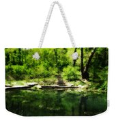 Hidden Pond At Schuylkill Valley Nature Center Weekender Tote Bag