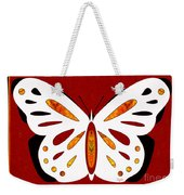 Hidden Possibilities And Abstract Butterflies By Omashte Weekender Tote Bag