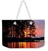 Hidden Sunrise Weekender Tote Bag