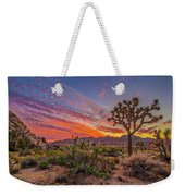 Hidden Valley Sunset Weekender Tote Bag