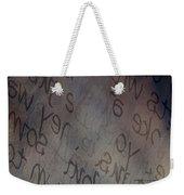 Hidden Within Words Weekender Tote Bag