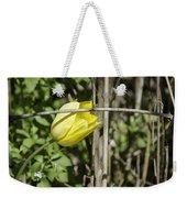 Hidden Yellow Tulip 02 Weekender Tote Bag