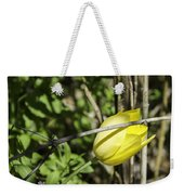 Hidden Yellow Tulip Weekender Tote Bag