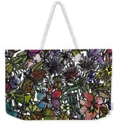 Hide And Seek In Wildflower Bushes Weekender Tote Bag