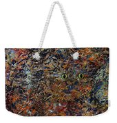 Hiding Weekender Tote Bag by James W Johnson