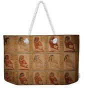 Hieroglyphic Detail Weekender Tote Bag