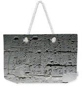 Hieroglyphics Weekender Tote Bag