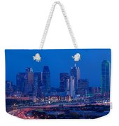High Angle View Of A Multiple Lane Weekender Tote Bag