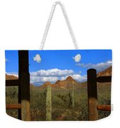 High Chaparral - Mountain View Weekender Tote Bag