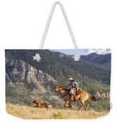 High Country Ride Weekender Tote Bag