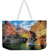 High Desert Lake Weekender Tote Bag