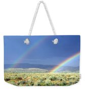 High Dessert Rainbow Weekender Tote Bag
