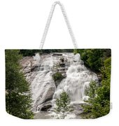 High Falls At Dupont Forest Weekender Tote Bag
