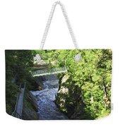 High Falls Gorge Weekender Tote Bag