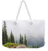 High Forest On Mt. Rainier Weekender Tote Bag