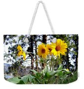 High In The Hills Weekender Tote Bag