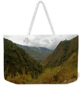 High In The Mountains Of The Intag Weekender Tote Bag