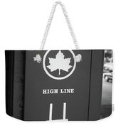 High Line Park Nyc Weekender Tote Bag