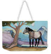 High Meadow Mustang Weekender Tote Bag