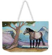 High Meadow Mustang Weekender Tote Bag