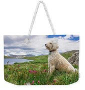 High Meadow With Eyes To The Sky Weekender Tote Bag