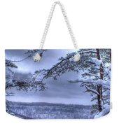 High Mountain Fence Weekender Tote Bag
