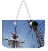 High On The Foremast Weekender Tote Bag