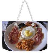 High Protein Breakfast Weekender Tote Bag