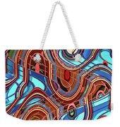 High Rise Abstract Phoenix Weekender Tote Bag