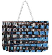 High Rise Construction Abstract Weekender Tote Bag