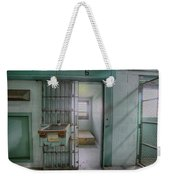 High Risk Solitary Confinement Cell In Prison Weekender Tote Bag