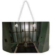 High Risk Solitary Confinement Cell In Prison Through Bars Weekender Tote Bag