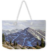 High Sierras Study Weekender Tote Bag
