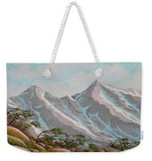 High Sierras Study IIi Weekender Tote Bag