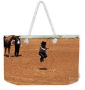 High Steppin Cowboy Weekender Tote Bag