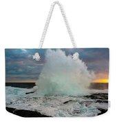 High Surf Explosion Weekender Tote Bag