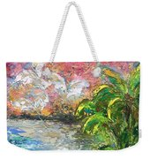 High Tide In Paradise Weekender Tote Bag