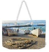 High Tide In Sennen Cove Cornwall Weekender Tote Bag