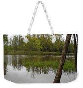 High Water Reflections Weekender Tote Bag