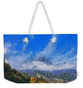 High Winds And Clouds Weekender Tote Bag