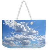 High Winds Chase The Rain Clouds Away Weekender Tote Bag