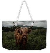 Highland Cow Weekender Tote Bag