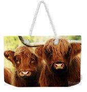 Highland Cows Weekender Tote Bag
