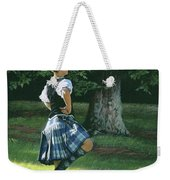 Highland Dancer Weekender Tote Bag