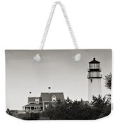 Highland Light At Cape Cod Weekender Tote Bag