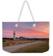 Highland Light Sunset 2015 Weekender Tote Bag