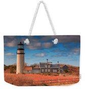 Highland Lighthouse Truro Massachusetts Weekender Tote Bag