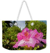 Highland Park Garden Rochester Ny Purple Flower Weekender Tote Bag