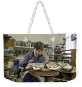 Highland Stoneware Artist At Work Weekender Tote Bag