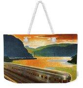 Highlands Of Hudson, Railway, Train Weekender Tote Bag